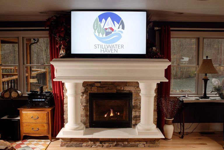 Game Room Fireplace