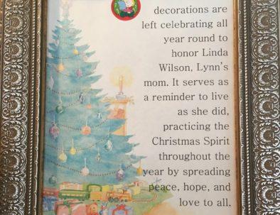 Christmas Decorations Explanation